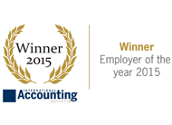 Grant Thonton Employer of the year 2015