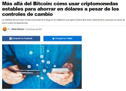 Noticia diario Infobae