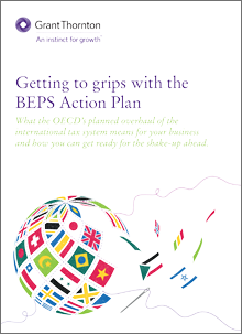 Getting to grips with the BEPS action plan