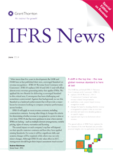 IFRS News Cover